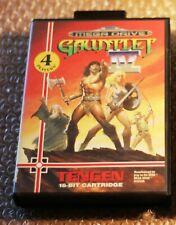GAUNTLET IV 4 gioco raro console Sega MEGADRIVE MEGA DRIVE PAL  + box da testare
