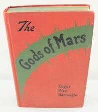 The Gods Of Mars By Edgar Rice Burroughs (1918) Hardcover