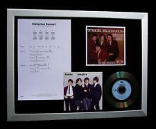 KINKS+DAVIES Waterloo Sunset LTD TOP QUALITY CD FRAMED DISPLAY+FAST GLOBAL SHIP!