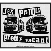 OFFICIAL LICENSED - SEX PISTOLS - PRETTY VACANT SEW ON PATCH PUNK