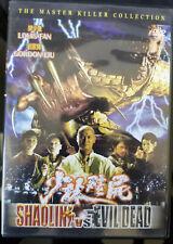 Shaolin vs Evil Dead Dvd