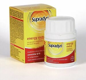 BAYER SUPRADYN ENERGY EXTRA 30 tablets.