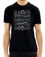 Game Of Thrones Faces Line Drawing Trending Mashup T shirt Novelty TV Movie