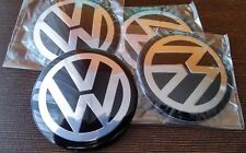 65MM Volkswagen Alloy Wheel Center Hub Cap Styling Badge Stickers Emblem X4