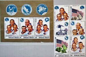 TOGO 1970 814-19 A Block 50 746-50 C136-C136a Apollo 13 Return ovp Raumfahrt MNH