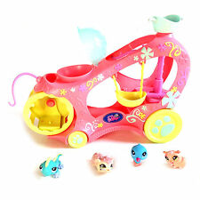 THE LITTLEST PET SHOP Mobile Playset & toy figure set , cats & dogs G,Condition