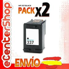 2 Cartuchos Tinta Negra / Negro HP 337 Reman HP Photosmart C4190