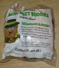 1988 McNugget Buddies  McDonalds Happy Meal Toy -  Boomerang - Australian