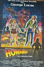 """[K3] """"HOWARD EIN TIERISCHER HELD -SELTENES MOTIV- """" GEORGE LUCAS FILMPLAKAT"""