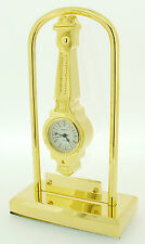 Novelty Miniature Barometer Clock on Stand