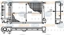 8MK 376 711-591 Hella Kühler Motorkühlung