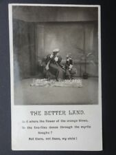 THE BETTER LAND c1905 RP by Bamforth Ltd