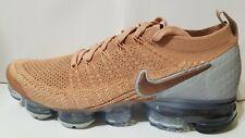Nike Womens Air VaporMax Flyknit 2 Rose Gold/Bio Beige Size 9.5 942843 602 New