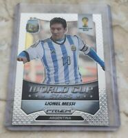 2014 PANINI PRIZM WORLD CUP LIONEL MESSI WORLD CUP STARS SILVER