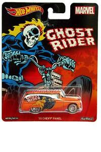 2016 Hot Wheels Pop Culture Marvel Ghost Rider '55 Chevy Panel