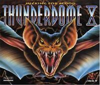 THUNDERDOME X 10 = Prophet/Weirdo/Waxweazle/Buzz...=2CDs= HARDCORE GABBER