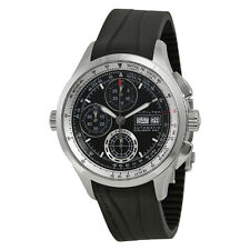Hamilton Khaki X-Patrol Automatic Chronograph Black Dial Black Rubber Mens Watch