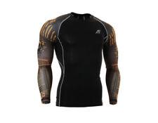 Markenlose Herren-Sport-Bekleidung mit Kompression Fitnessstudio & Training