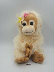 "Baby Coco & Natsu B1907 Orangutan Nakajima 2008 Plush 8"" Toy Doll Japan"