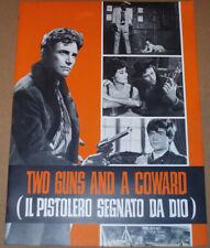 Brochure film IL PISTOLERO SEGNATO DA DIO Anthony Steffen G.Ferroni 1968 western