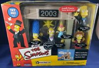 THE SIMPSONS 2003 NEW YEAR 5 PC EXCLUSIVE FIGURES TOYS R US SEALED SET