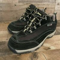 LL BEAN TEK 2.5 hiking shoes SZ 7.5 Primaloft Waterproof Black Womens