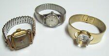 Trio of 3 Vintage GENEVA Watches - Art Deco & More
