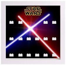Lego Minifigura Vitrina Marco Star Wars Sables De Luz Minifiguras