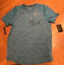 Nike Running Shirt Signed By Juan Martin del Potro