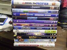 (17) Childrens Adventure DVD Lot: Disney Pacifier Pagemaster (2) Hot Wheels MORE