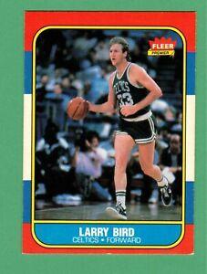 1986-87 FLEER PREMIER BASKETBALL LARRY BIRD #9 CELTICS