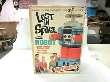 """VINTAGE - LOST IN SPACE Motorized Robot - Remco 1966 """"BOX ONLY"""" NO ROBOT"""
