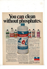 JUN 26 1970 LIFE AMWAY PRODUCTS CLEAN WITHOUT PHOSPHATES  AD PRINT H484