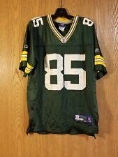 Green Bay Packers Greg Jennings #85 Reebok Onfield Jersey Youth L (14-16) EUC