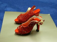 TONNER NU MOOD RED HIGH HEEL SHOES FOR NU MOOD DOLLS LAST ONE