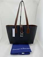 Dooney & Bourke Small Shannon Tote Charcoal Python/Croc w/ Dust Bag $298 NWT
