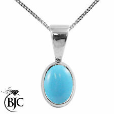 White Gold Turquoise Fine Necklaces & Pendants