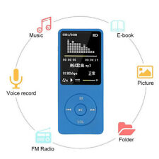 Digital Compact Portable MP3 MP4 Player SD Photo Video Viewer Voice Recorder FM