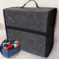 Car Boot Organiser Trunk Storage Box Travel Tool Multipurpose Felt Tool Case