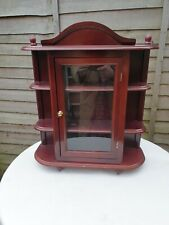 Small Vintage Wall Cupboard Cabinet Storage Unit