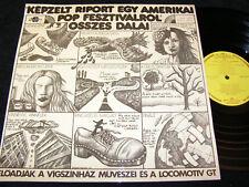 LGT Kepzelt Riport Egy Amerikai Pop-Fesztivalrol.../ HU LP'73 QUALITON SLPX16579