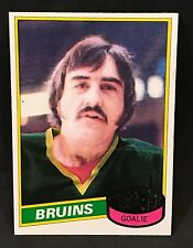 1980-81 TOPPS HOCKEY ROGATIEN VACHON CARD #110 BOSTON BRUINS NMT-NMT/MT