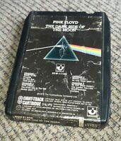 Pink Floyd The Dark Side Of The Moon 8-Track Tape 1973 Harvest 8XW 11163 Gilmour