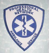 "Professional Health Network Ambulance Service Patch - 3 1/2"" x 4'"