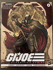 GI JOE classified snake supreme cobra commander Hascon Exclusive Hasbro Pulse