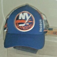 New York Islanders NHL 2015 Stanley Cup Playoffs Reebok Hat Blue Snapback Used