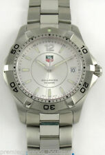 TAG Heuer Quartz (Battery) Adult Silver Strap Wristwatches