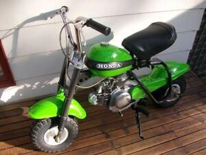 Honda QA50 Frame Gray  Vintage Motorcycle Paint - Aerosol - Pint - Quart