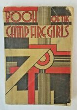 Book of the Camp Fire Girls, Vintage Paperback, 1936