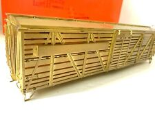 Iron Horse O Scale Penn RR Single Deck Stock Car Brass 2 Track NIB FM Korea